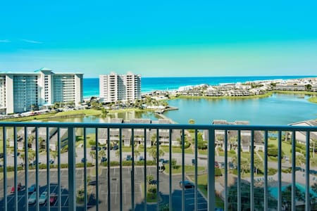 Miramar Beach Destin Condo, 12th Floor Gulf View - Destin - Condominium