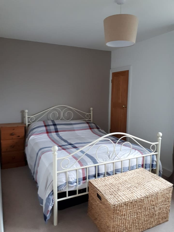 Double bedroom with travel cot if needed