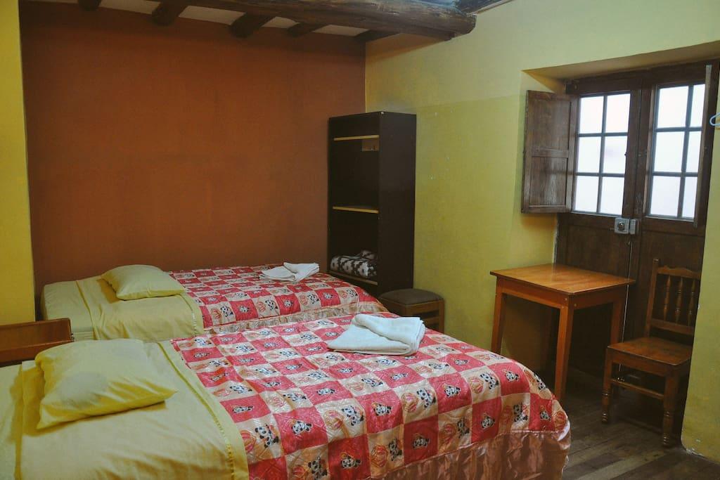 habitacion 2 camas