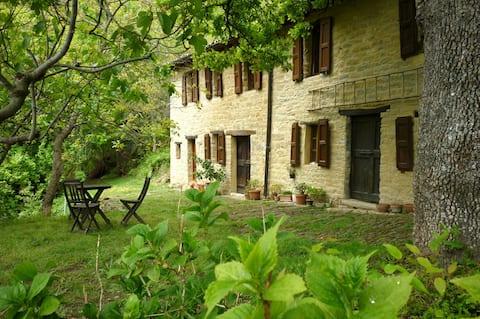 Romantisch huis in de natuur