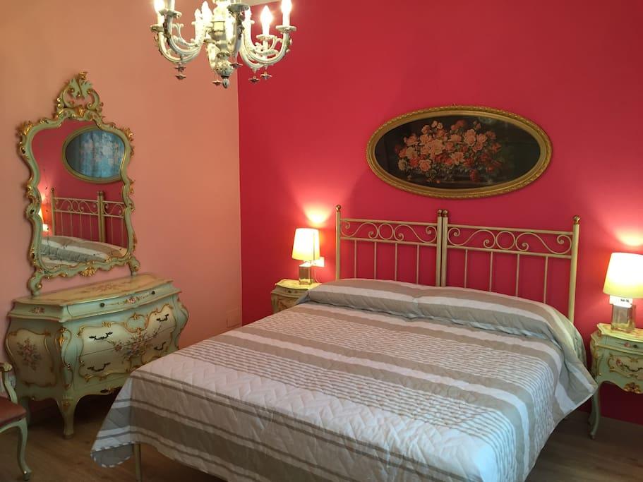 Camera matrimoniale in stile veneziano