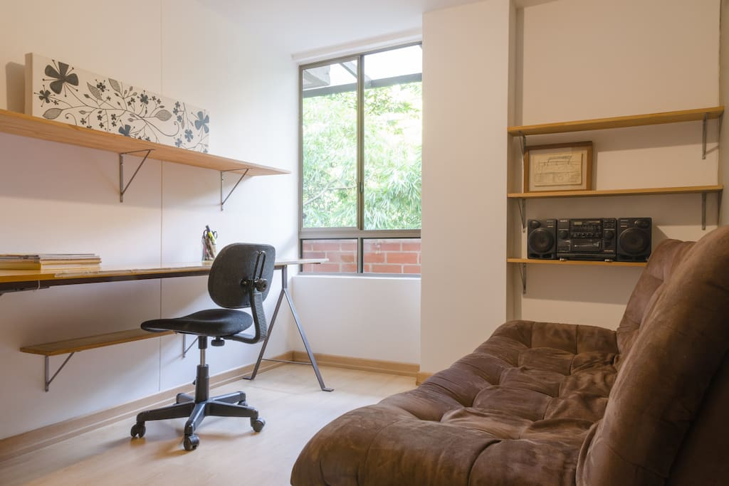 Study/Bedroom. Sofa bed.
