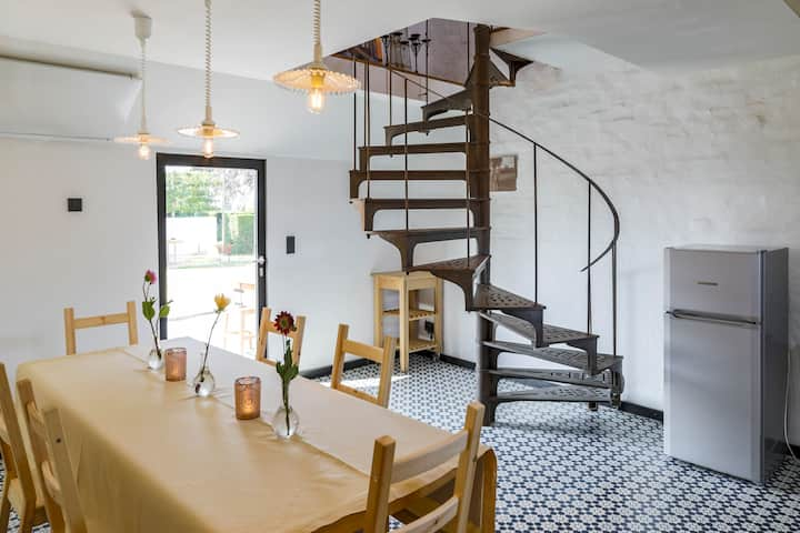 Rural Guest Suite close to Bruges and Ypres