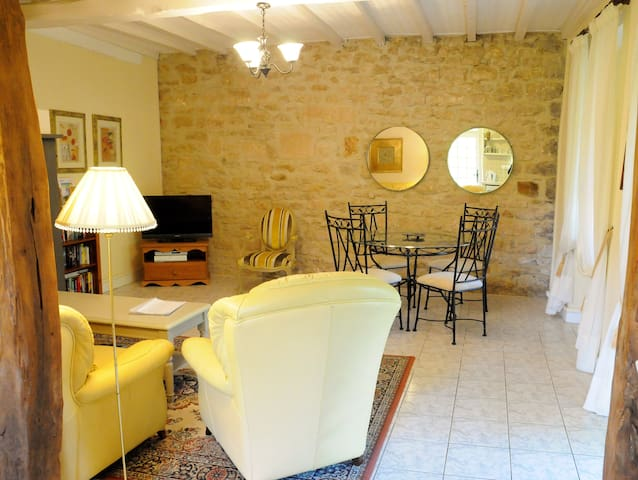 Beautiful stone cottage with a NEW swimming pool - Saint-Front-sur-Lémance - House