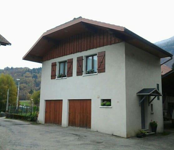 Maison de village de 35m2 - Venthon - Huis
