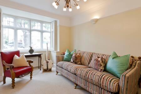 House: river, parks, airport, Richmond, Hampton - Teddington - Haus