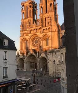 Une vue directe sur la cathédrale ! - Laon - Flat