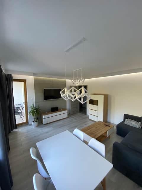Apartament o wysokim standardzie