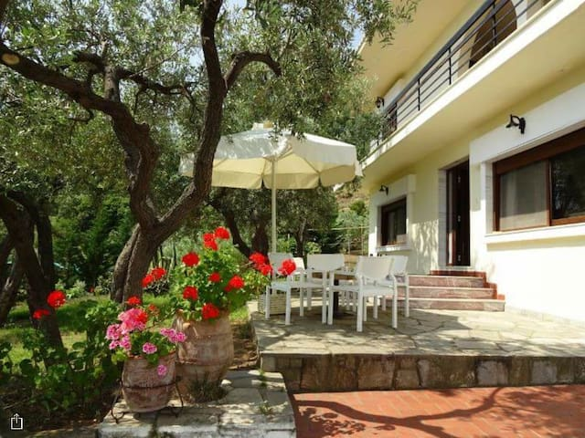 Villa Elia by the sea - Akti Salonikiou  - Villa