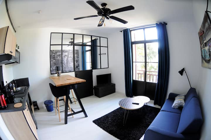 Appartement T1 bis moderne et fonctionnel