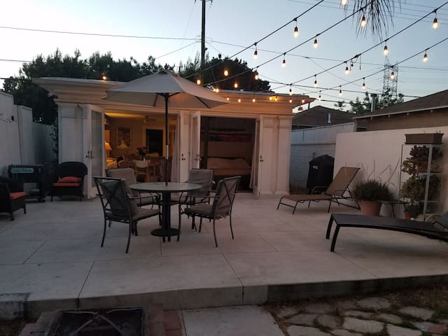 ACROSS FROM STUDIOS-Bungalow home w/ Patio & Yard