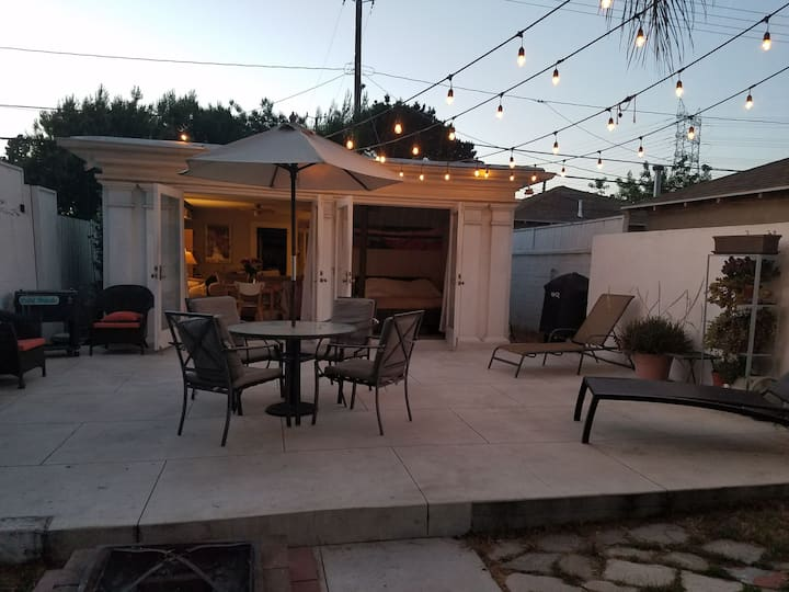 ACROSS FROM STUDIOS-Bungalow home w/ Patio & Yard