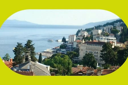 Opatija, flat  in the center ,near everything - Abbazia