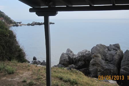 Duplex Apt. with great sea view - really quiet - Nea Skioni - Villa