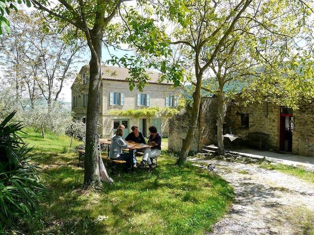 Vakantiehuis Monti Sibillini; ruimte en rust
