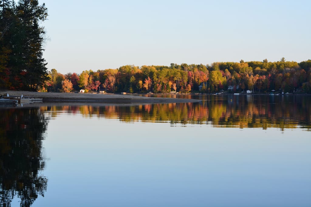 Fall Colours from Dock.