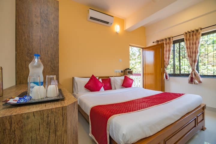Cosy deluxe room for 2 in Calangute/Candolim