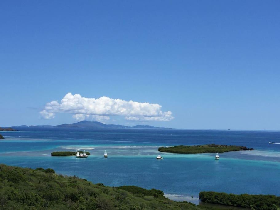 Views of St. Thomas, Culebrita and Las Pelas