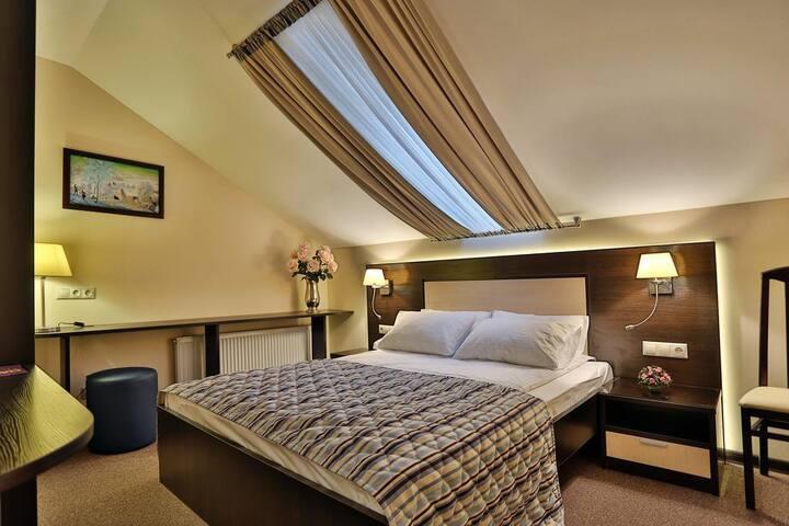 Уютная мансарда в отеле «Воронцовский»