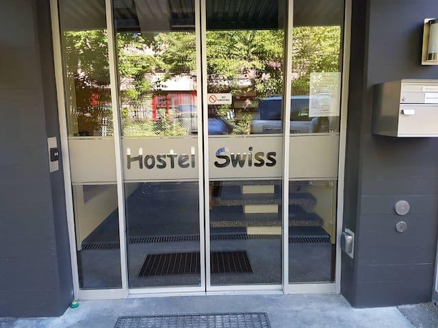 Kleines Einzelzimmer | Hostel Swiss