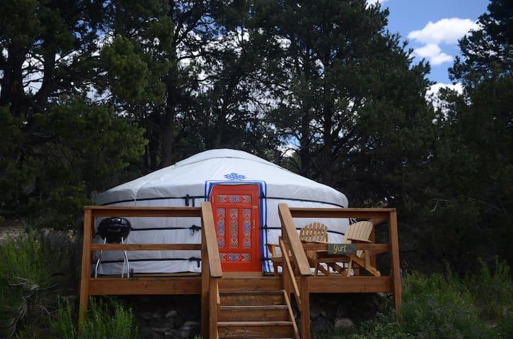 Traditional Mongolian Yurt in Boulder
