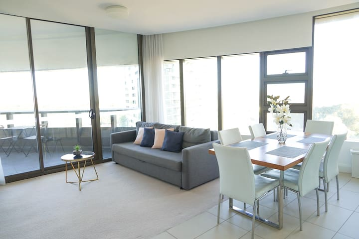 modern 2bedrooms apartment in Sydney Olympic park