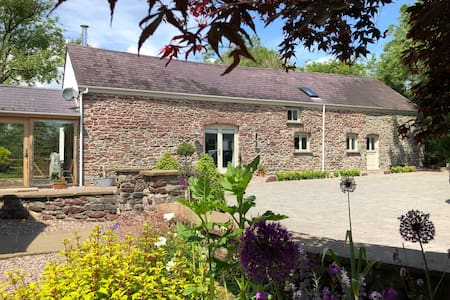 Unique Character Barn B&B near Carmarthen
