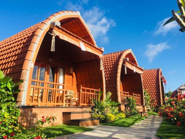 Wooden House at Druwa Villa