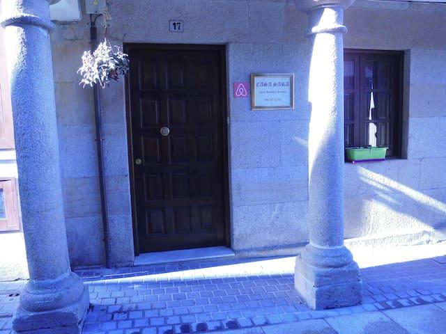Habitación en Casa Sara,casco histórico Pontevedra
