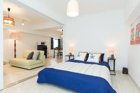 Shizuoka 2BR roomy APT near HAMAMATSU STA freeWiFi - Apartament