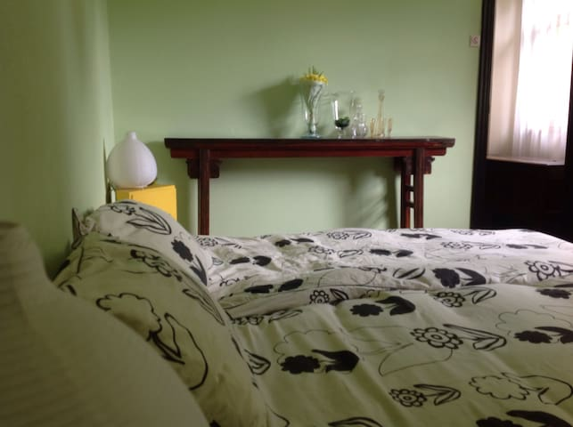 Chambre Mondeal. 2 persons B&B sleeping room (+ place for a little child)
