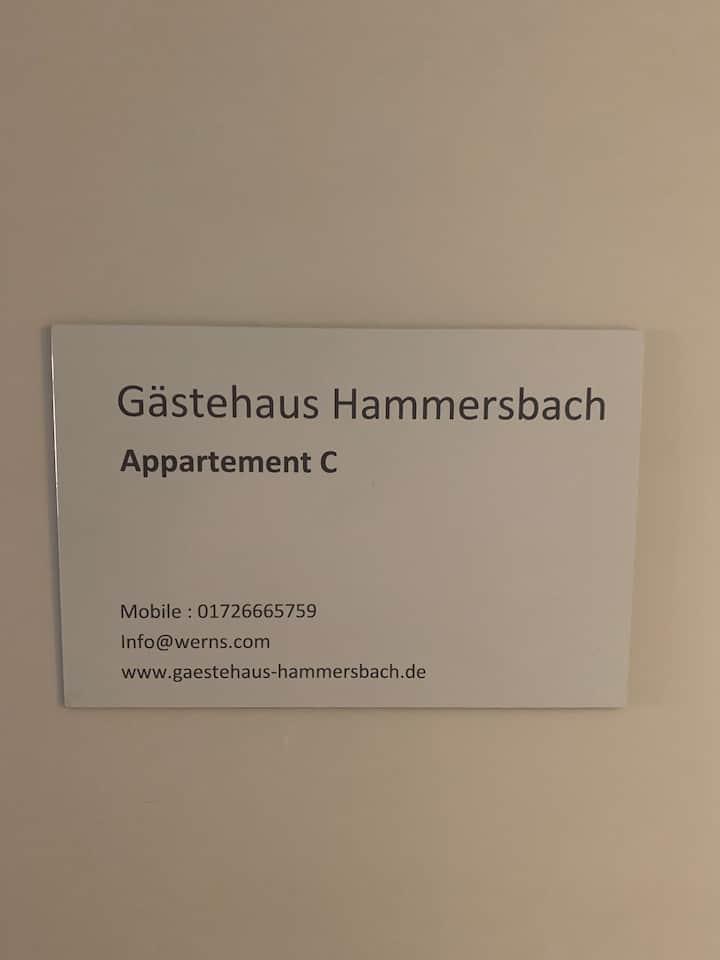 Gaestehaus Hammersbach  App. C 150 qm, 6-8 Pers