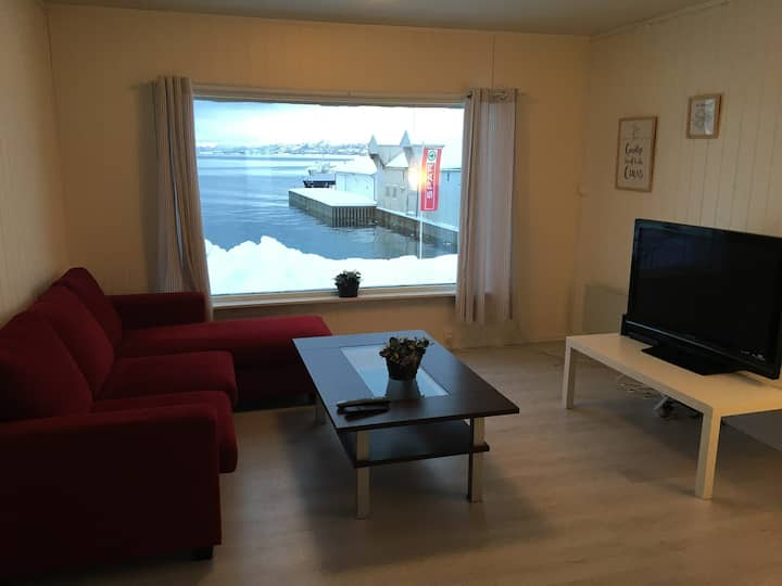 The Old Sea View House. Lofoten dockside living.