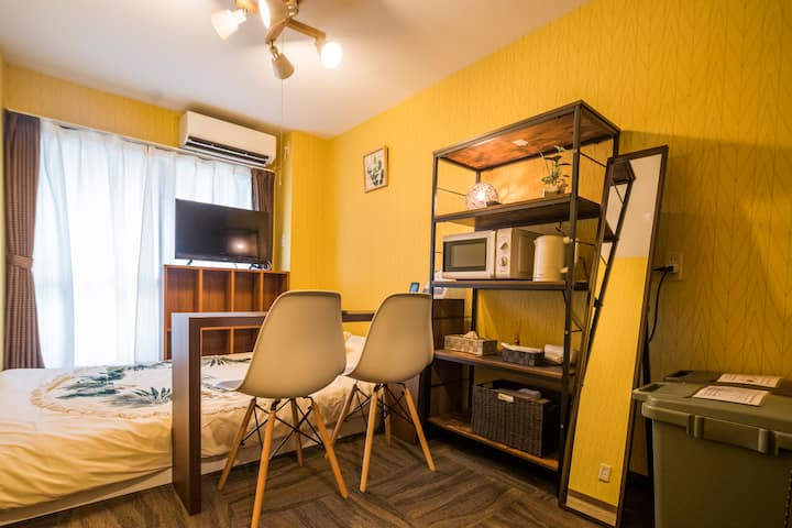 clean and comfortable room near Kyoto Station/302