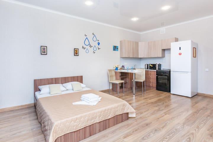 Уютная квартира в новом жилом комплексе Акварель