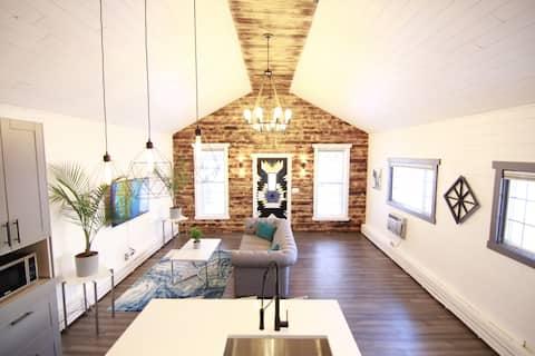 Elegante casa colonica moderna nel cuore del West percorribile a piedi 7 °