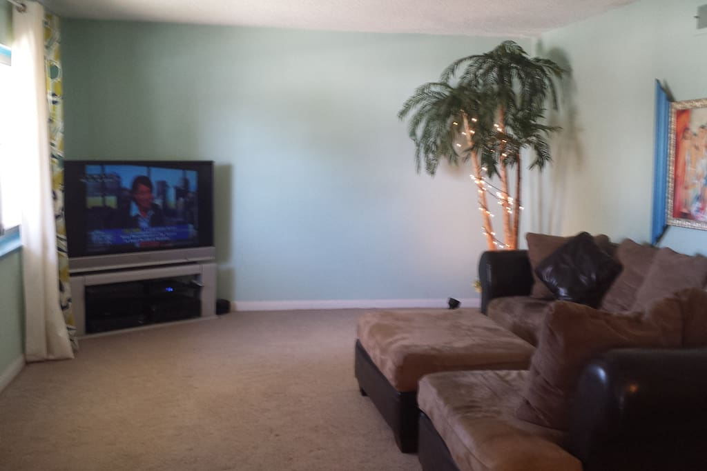 Front Living Room with full access to television