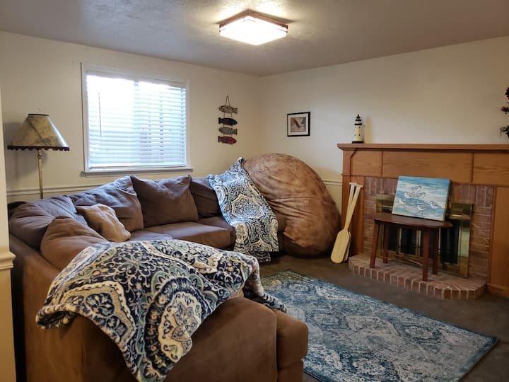 Big North Logan suite for your family. Come stay!