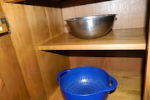 Baskets and containers for cooking purposes