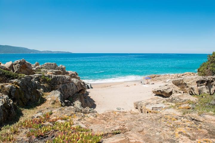 Maison de vacances et sa plage secrète