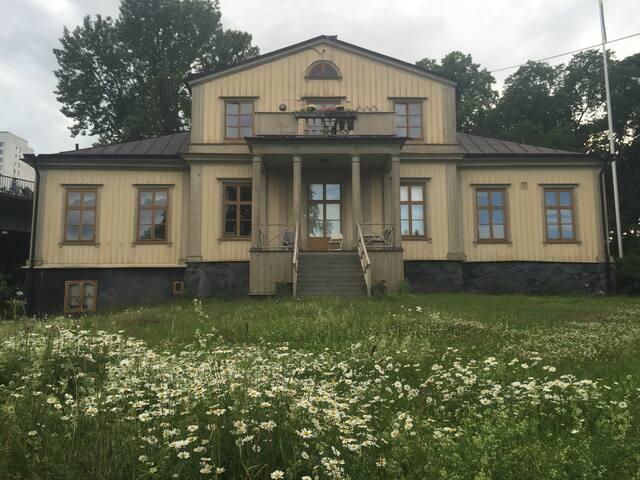 Unik villa i centrala Stockholm - rum för 2 - Stockholm - Villa