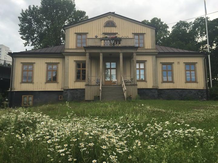 Unik villa i centrala Stockholm - rum för 2
