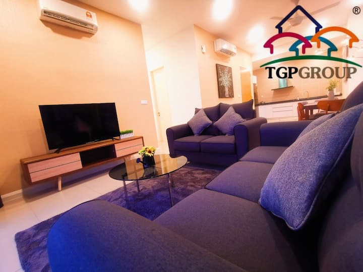LUXURY 3 BEDROOM #D'Pristine Apt 🏠Legoland [TGP]