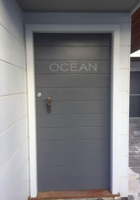 Ocean - front door