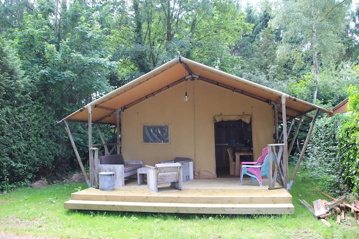 Veluwe | Glamping | Bospark | 6 pers l W6