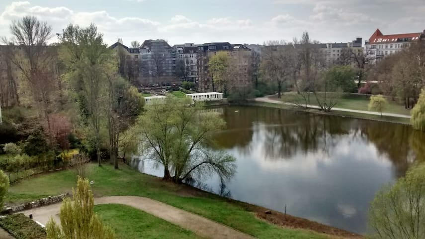 Studio Apartment with Lake View in the City Centre
