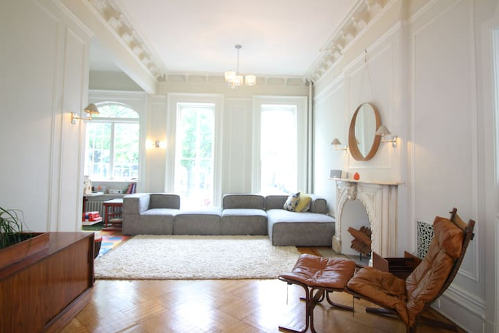 Large Triplex in Brownstone
