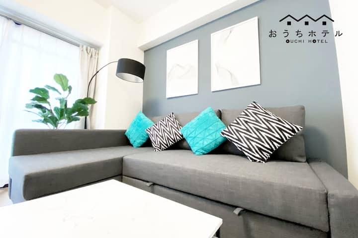 YC54 Friendly 3 bedroom 1.3km Hiroshima Sta Miyaji