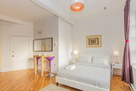 Bright Sunny Studio in the heart of Mile End - Montréal