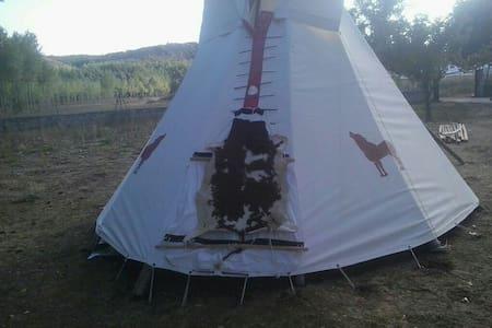 Tipi comanche camping cubillas - Cubillas de Santa Marta - Tipi